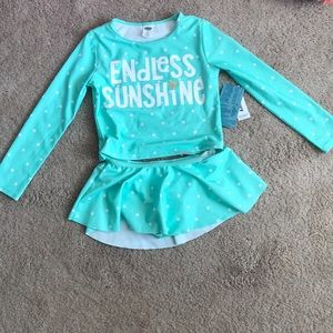 Old Navy Toddler Swimsuit Size 4T NWT